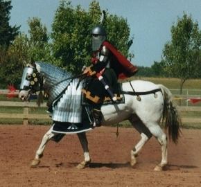 Byzantine Heavy Cavalry & making horse barding
